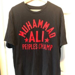 Under Armor roots of fight Muhammad Ali shirt